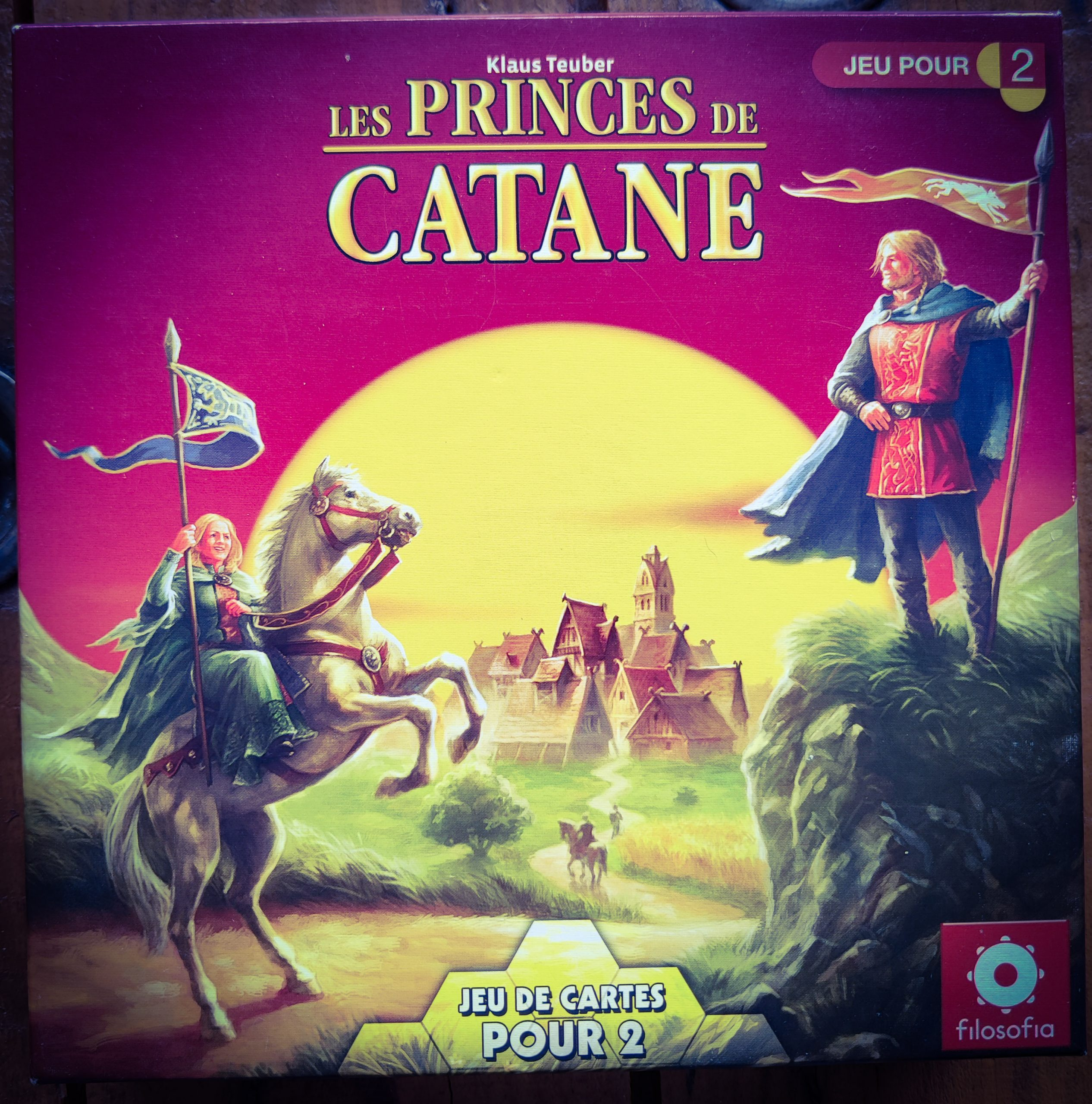 Catan Duel (les princes de Catane)